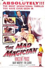 The Mad Magician 1954 DVD - Vincent Price / Mary Murphy